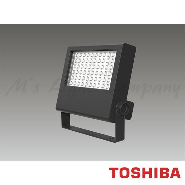 東芝 LEDS-10901LN-LS9 LED投光器 狭角タイプ 電球色 7300lm 防雨形 IP55 耐塩形 ビームの開き53° グレーイッシュブラック 受注生産品 『LEDS10901LNLS9』
