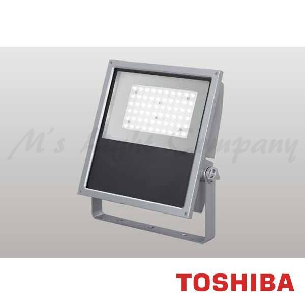 東芝 LEDS-13907LM-LJ9 LED投光器 中角タイプ 電球色 10700lm 防雨形 IP55 重耐塩形 ビームの開き53° メタリックシルバー 受注生産品 『LEDS13907LMLJ9』