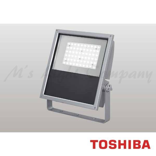 東芝 LEDS-13907LN-LJ9 LED投光器 狭角タイプ 電球色 10100lm 防雨形 IP55 重耐塩形 ビームの開き29° メタリックシルバー 受注生産品 『LEDS13907LNLJ9』
