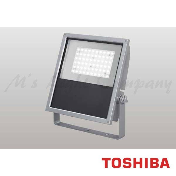 東芝 LEDS-13907NW-LJ9 LED投光器 広角タイプ 昼白色 13200lm 防雨形 IP55 重耐塩形 ビームの開き76° メタリックシルバー 受注生産品 『LEDS13907NWLJ9』