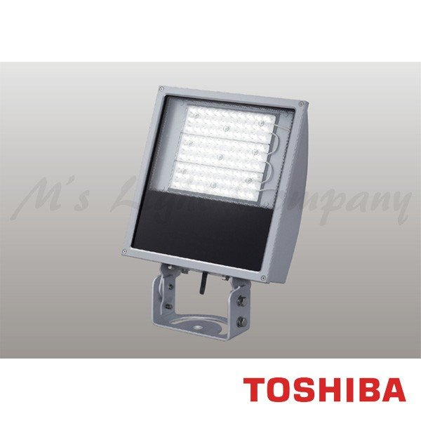 東芝 LEDS-23907NX-LJ2 LED投光器 横長タイプ 昼白色 21100lm 防雨形 IP55 重耐塩形 メタリックシルバー 受注生産品 『LEDS23907NXLJ2』