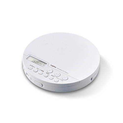 ポータブルCDプレーヤー リモコン付属 有線&Bluetooth対応 ホワイト ELECOM エレコム LCP-PAP02BWH|msmart