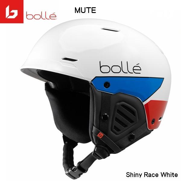 ボレー スキー ヘルメット ミュート bolle MUTE ホワイト [31923]