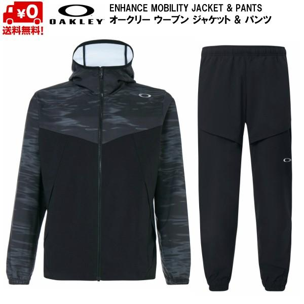 【驚きの値段】 オークリー ウーブン ジャケット & パンツ セット ブラック OAKLEY ENHANCE MOBILITY JACKET & PANTS BLACK FOA400805-00G-FOA400823-02E, SmartTravel スマートトラベル b8315a75
