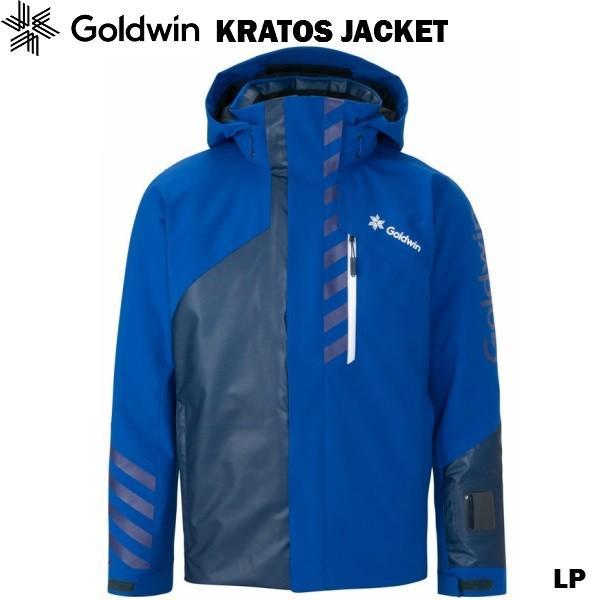 超美品の ゴールドウイン スキージャケット Goldwin KRATOS JACKET LP ラピスラズリ ブルー G11925P-LP, PCH[ストリート系ルード] eb613fe2