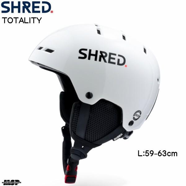 シュレッド ヘルメット トータリティ SHRED TOTALITY WHITE ホワイト HETTLJ16