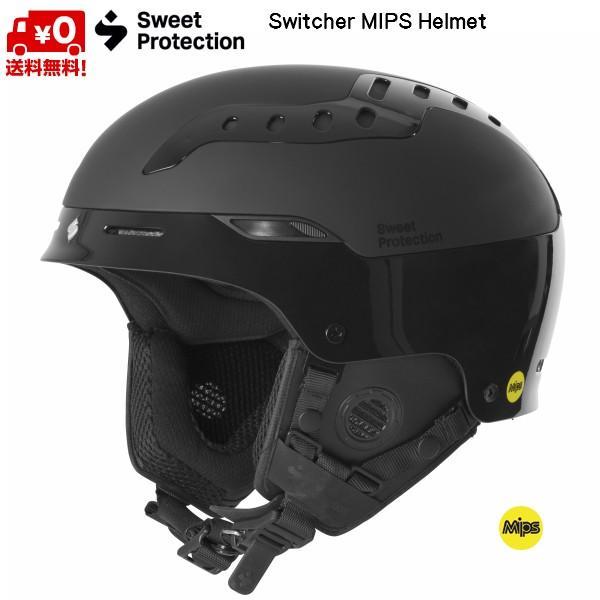 通販 スウィートプロテクション スキー ヘルメット スキー スウィッチャー スウィッチャー MIPS ブラック Sweet Protection Switcher ヘルメット MIPS Helmet 840053-GSBLK, コウヌグン:37ab6c4c --- airmodconsu.dominiotemporario.com