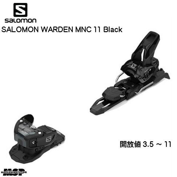 サロモン ビンディング SALOMON WARDEN MNC 11 黒 ブラック [L40507600]