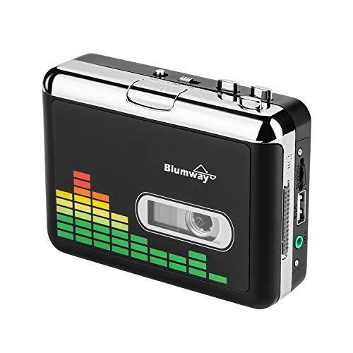 高品質カセットテープUSB変換プレーヤー MP3コンバーター カセットテーププレーヤー MP3曲の自動分割 USBフ|msselect