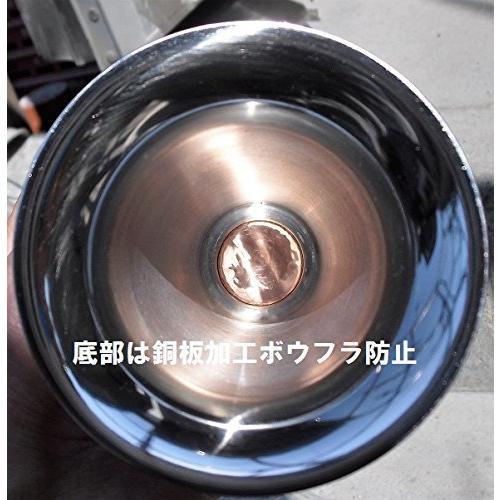 ボウフラ防止銅板加工 ネジ式ステン花立大 御影石 台座付そのまま置いて使用可(設置資材付)一対(二本)|mtmco|08