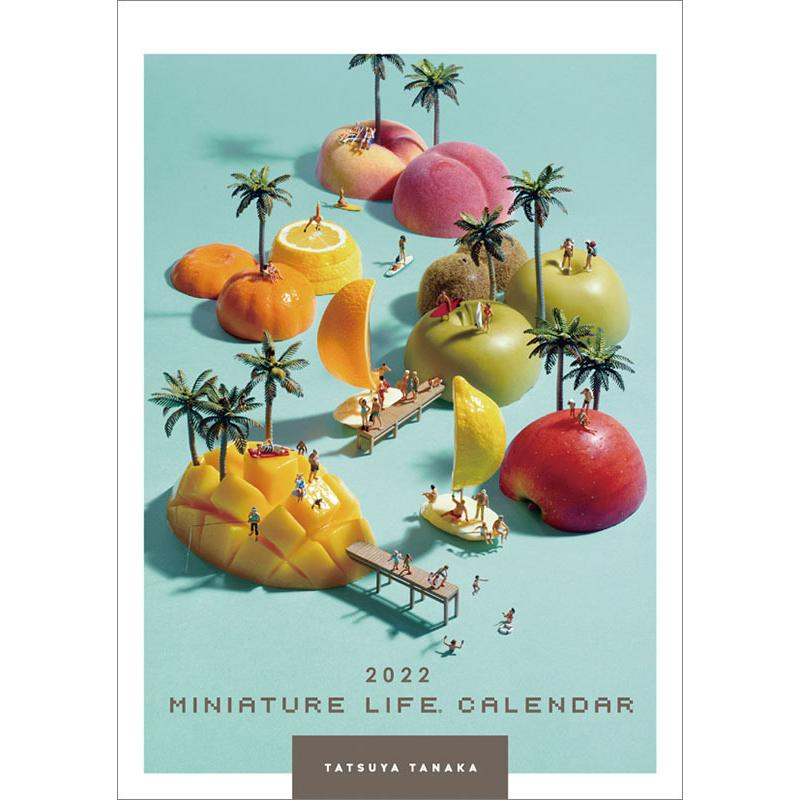MINIATURE LIFE CALENDAR 2022年カレンダー CL-466|mu-tairiku
