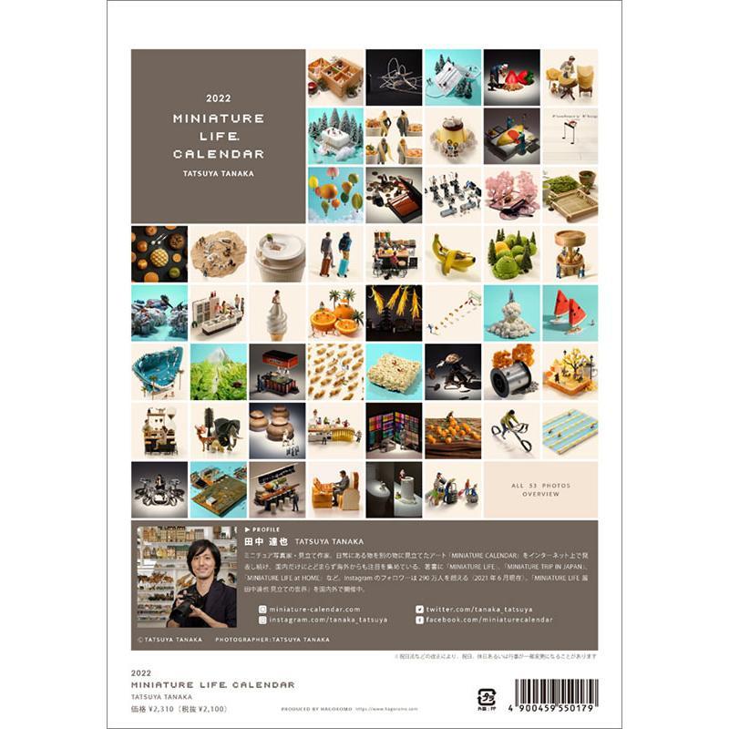 MINIATURE LIFE CALENDAR 2022年カレンダー CL-466|mu-tairiku|05