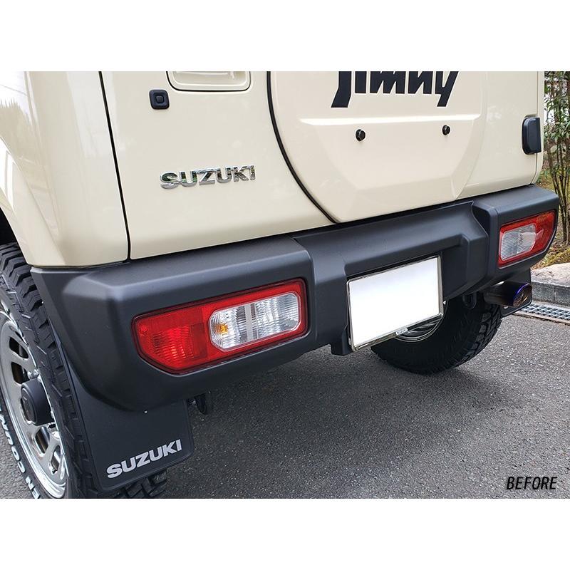 新型ジムニーJB64/JB74 テールレンズカバー (ライトスモーク) mudfactory 05