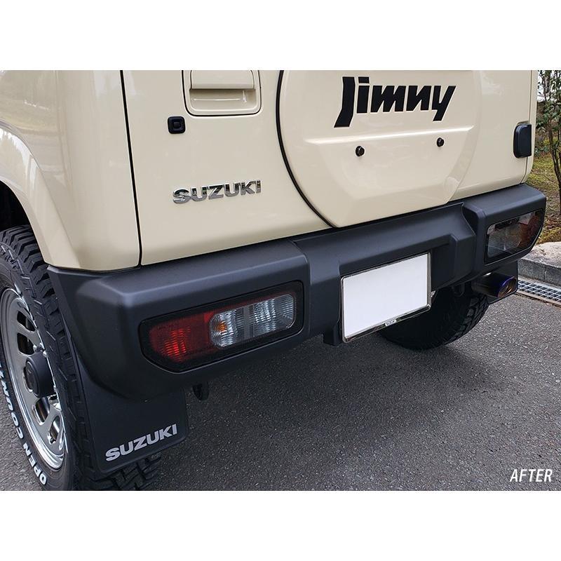 新型ジムニーJB64/JB74 テールレンズカバー (ライトスモーク) mudfactory 06