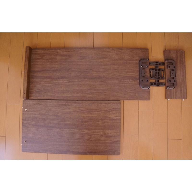 テーブル+パネル脚+棚コネクター1個付セット|mugen-cf|03