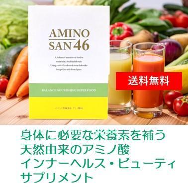 【ポイント5倍+送料無料】アミノ酸46 180g(3g×60包)ポーレン加工食品 【ベルクール】|mukashi-honpo