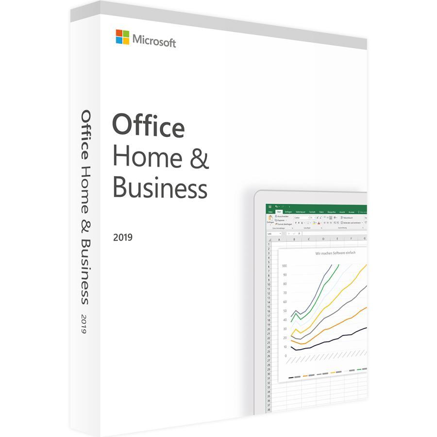 Microsoft Office Home & Business 2019(最新 永続版)|オンラインコード版|Windows10/mac対応|PC1台|muki|04