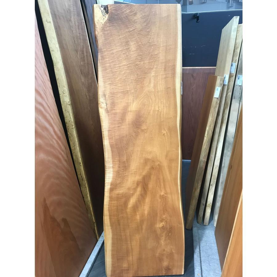 ケンポナシ 一枚板 無垢 テーブル オイル仕上げ済 1970×550×40