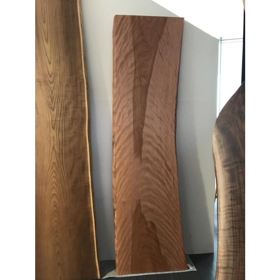 ミズメザクラ 一枚板 一枚板 無垢 テーブル 草木染済 2700×630×50