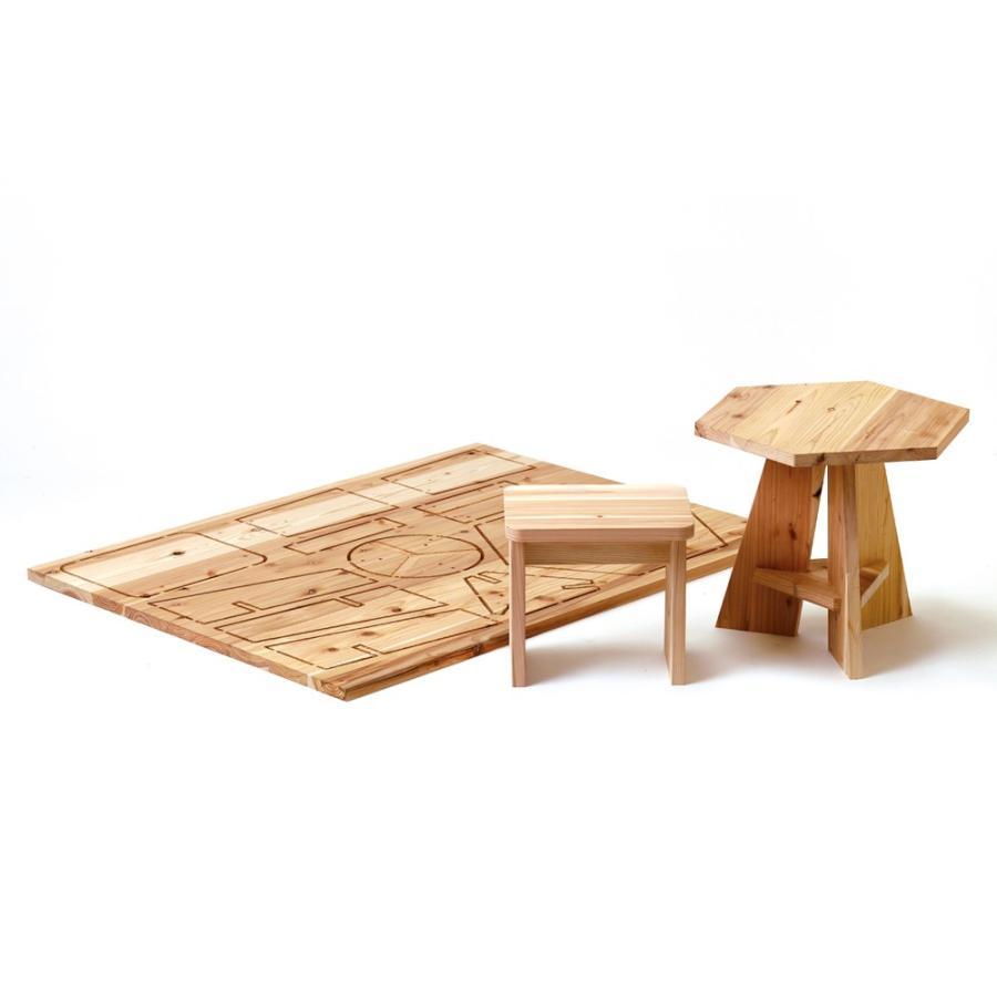 木it (キッズテーブル&チェア)プラモデルファニチャー 家具キット ヤマガタヤ産業|mukusakura
