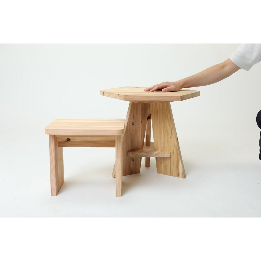 木it (キッズテーブル&チェア)プラモデルファニチャー 家具キット ヤマガタヤ産業|mukusakura|07