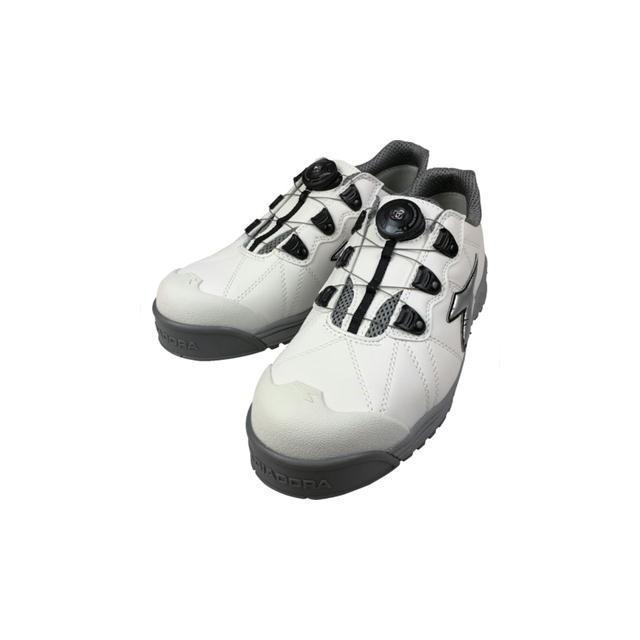 DIADORA(ディアドラ) ユーティリティ 安全靴 フィンチ ホワイト/シルバー/ホワイト 24.5〜28・29cm FC-181