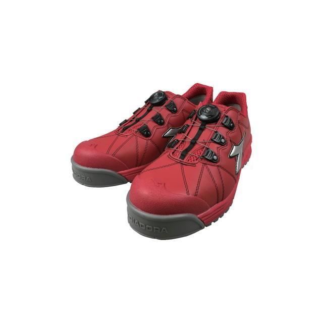 DIADORA(ディアドラ) ユーティリティ 安全靴 フィンチ レッド/シルバー/レッド 24.5〜28・29cm FC-383