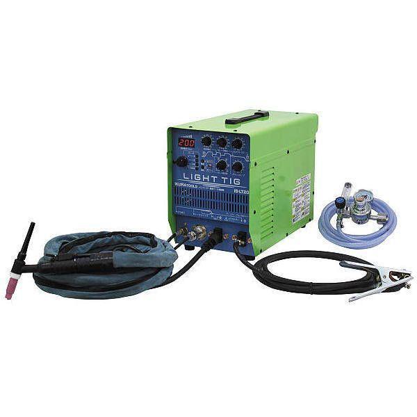 イクラ インバーター制御直流パルスTIG溶接機 IS-LT200