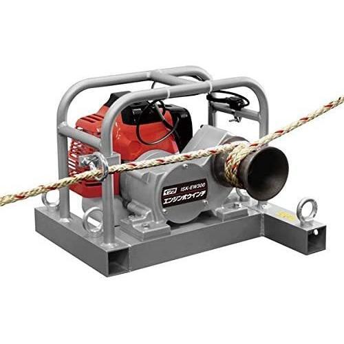 イクラ エンジン式ウインチ IKS-EW300 育良精機