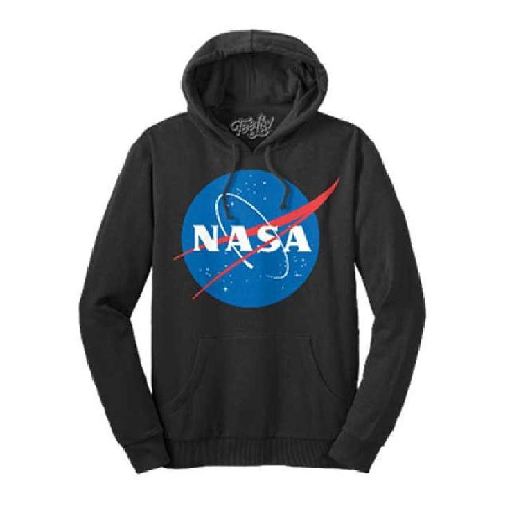 アメリカ航空宇宙局 NASA パーカ 黒 正規品 ナサ パーカー 米国国家 ...