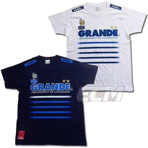 【限定アイテム】GRANDE RUSSIA 2018 フランス代表 優勝国Tシャツ H&A【サッカー/フットサル/グランデ/ワールドカップ/クロアチア代表/フランス代表】ネコ
