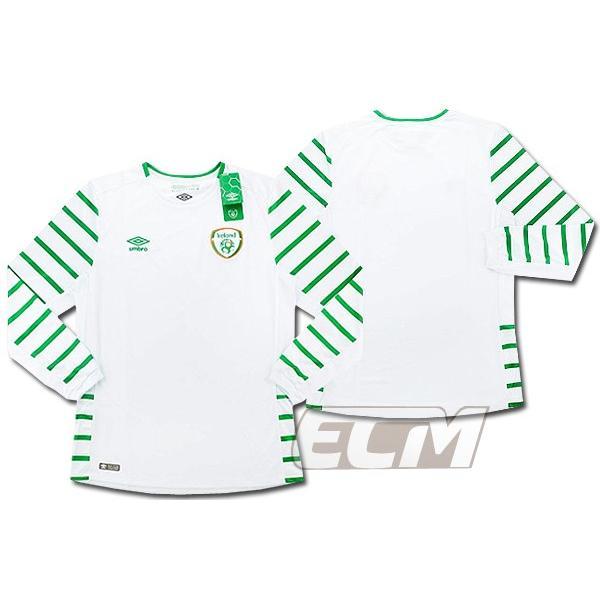 【予約ECM32】【国内未発売】アイルランド代表 アウェイ 長袖 プレイヤーモデル【16-17/サッカー/ユニフォーム/Worldcup/Irland】825