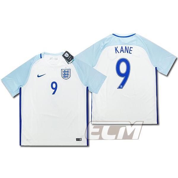 【予約ECM32】イングランド代表 ホーム 半袖 9番 ケイン【16-17/ENGLAND/KANE/サッカー/ユニフォーム】