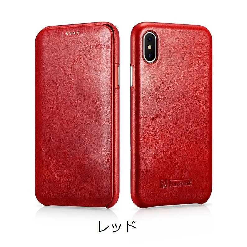 iPhoneXs XsMAX XR 本革 手帳型 ケース iPhone8/7 iPhone8/7 Plus 牛革 おしゃれ マグネット カバー icarer murakumomura 13