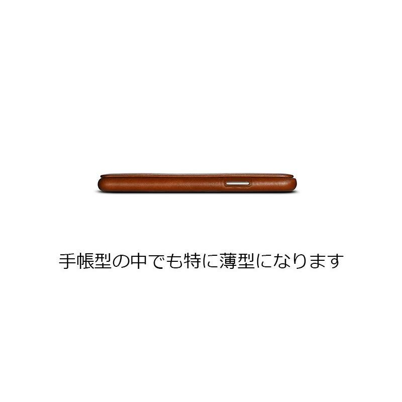 iPhoneXs XsMAX XR 本革 手帳型 ケース iPhone8/7 iPhone8/7 Plus 牛革 おしゃれ マグネット カバー icarer murakumomura 06