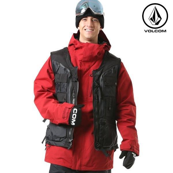 スノーボード ウェア ベスト 型落ち VOLCOM ボルコム G0651911 Iguchi Slack Vest 18-19モデル メンズ Bryan Iguchi FF K22
