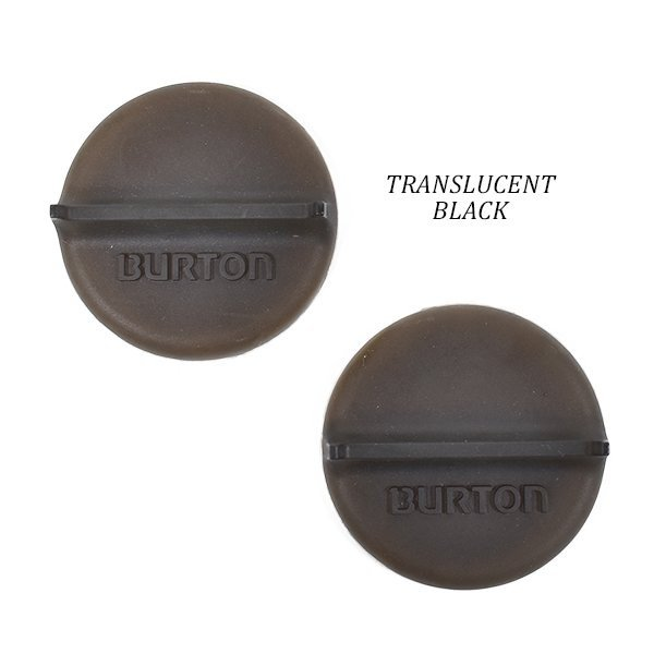 Translucent Black Burton Mini Scraper Mats Winter 2018