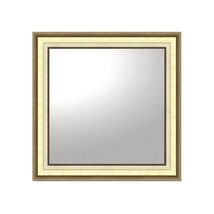 ユーパワー デコラティブ 大型ミラー モダン 正方形(ゴールド) BM-16025 鏡 インテリア 壁掛用