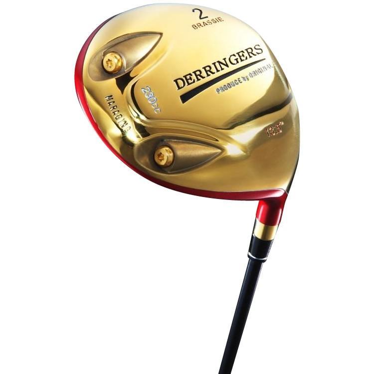 BRS-01 デリンジャー パワーブラッシー 2番ウッド 短尺 カーボンシャフト R(レギュラー) 軽量 軽い ゴルフクラブ
