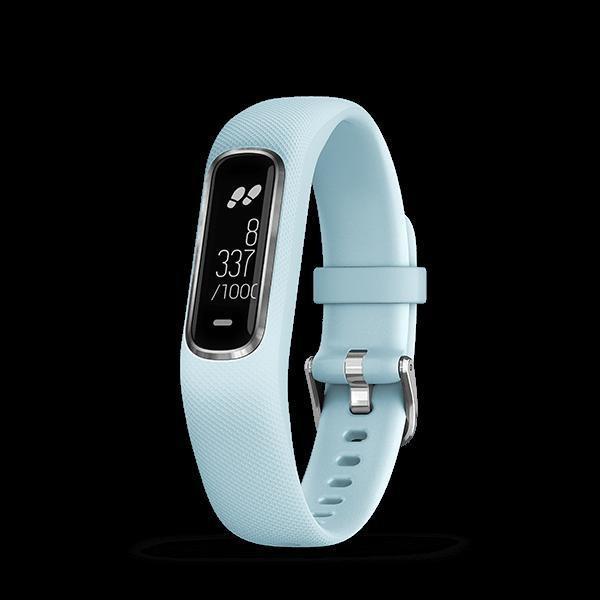 GARMIN(ガーミン) vivosmart4 青銀 レギュラー GPS 腕時計 日本正規品 010-01995-64