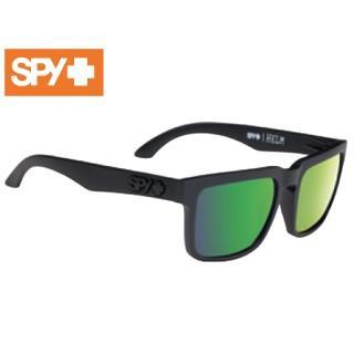 【nightsale】 SPY/スパイ 673015374861 HELM [フレーム:MATTE 黒] (レンズ:Happy Bronze Polar w/緑 Spectra)