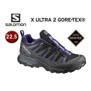 SALOMON/サロモン L39305900 FOOTWEAR X ULTRA 2 GTX W ウィメンズ 【22.5】(PHANTOM/黒/SPECTRUM 青)