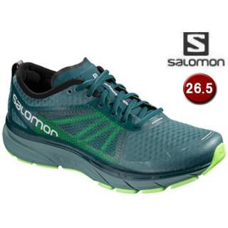 SALOMON/サロモン L40476500 SONIC RA ランニングシューズ メンズ 【26.5cm】(Hydro/ReflectingPond/緑Gecko)