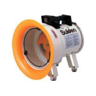 Suiden/スイデン 送風機(軸流ファン)ハネ200mm 単相200V低騒音省エネ SJF-200L-2