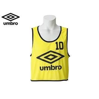 UMBRO/アンブロ UBS7557Z ストロングビブス10P 【KZ-F】 (Fイエロ)