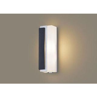 Panasonic/パナソニック LGWC81441LE1 LEDポーチライト オフブラック【電球色】【左側遮光】【明るさセンサ付】【壁直付型】