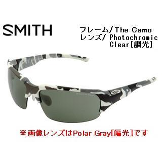 【nightsale】 Smith Optics/スミス SWING The Camo 【レンズ/Photochromic Clear [調光]】