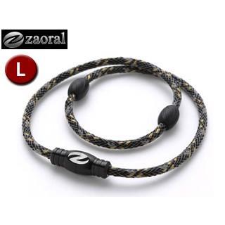 zaoral/ザオラル N12914 リカバリーネックレス 【Lサイズ:55cm】 (ブラック/ブラック)