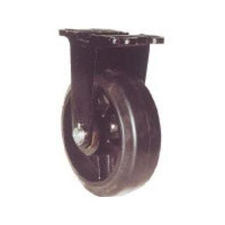 YODONO/ヨドノ 鋳物重量用キャスター 許容荷重671.3 取付穴径15mm MHA-MK300X75