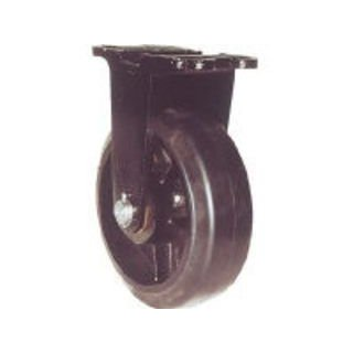 YODONO/ヨドノ 鋳物重量用キャスター 許容荷重882 取付穴径18mm MHA-MK300X100